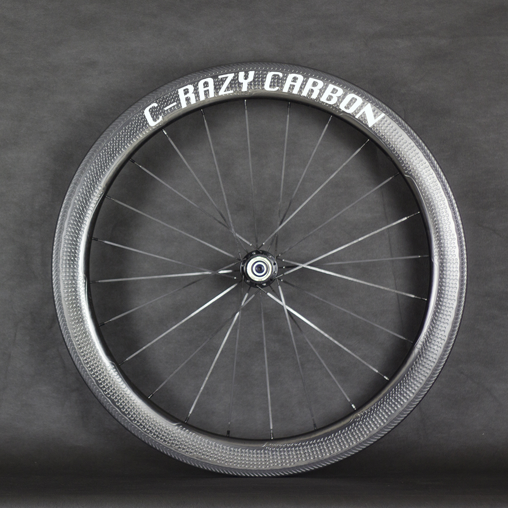 Special brake surface Dimple carbon  wheels 2 year warranty 58mm clincher road bike carbon wheel, 700C road bike carbon wheelset electronic parking brake epb service tool ep21 multilingual updatable one year warranty