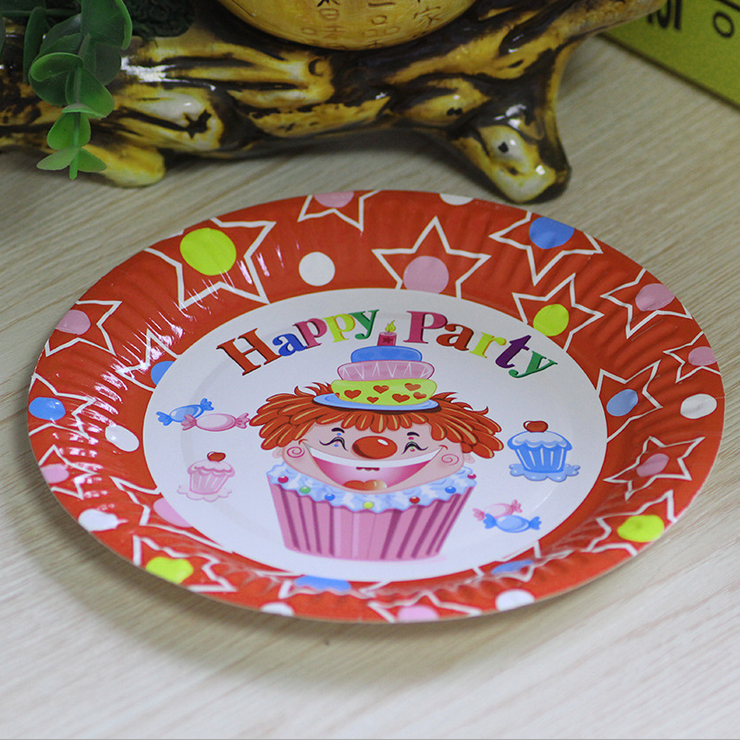 FLYDREAM 5pcs/set Cute Disposable Plate Birthday Party Wedding Christmas Decoration Supplies Fruit Snacks Disposable Tableware-in Disposable Party Tableware ... & FLYDREAM 5pcs/set Cute Disposable Plate Birthday Party Wedding ...