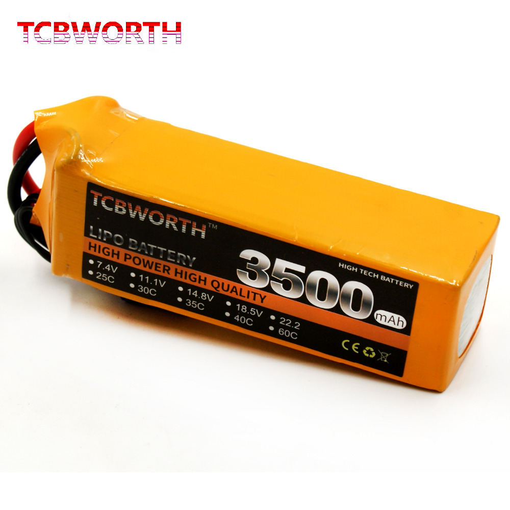 6S 22.2V 3500mAh 60C RC LiPo battery For RC Airplane Drone Quadcopter lipo battery 7 4v 2700mah 10c 5pcs batteies with cable for charger hubsan h501s h501c x4 rc quadcopter airplane drone spare