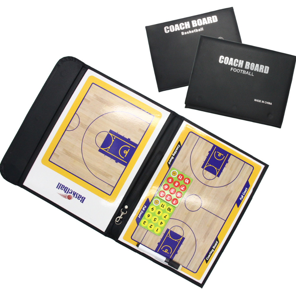 Creative Mark Coaching Board Basketball/Football Sport Strategy Portable
