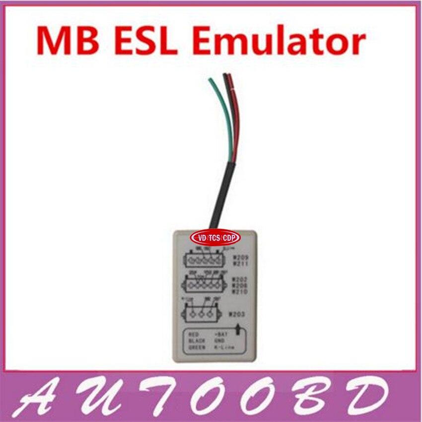 New Arrival 2016 Top-Rated mb esl tool Support W202,W203,W208,W209,W210,W211 MB ESL Emulator Professional IMMO Eraser Emulator renault immo emulator green