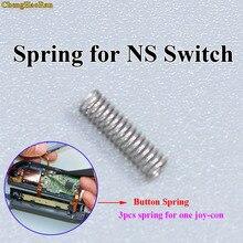 ChengHaoRan 30 100 шт Левая Правая LR ZL ZR кнопка весна для Nintendo переключатель NS Joy Con контроллер запасные части