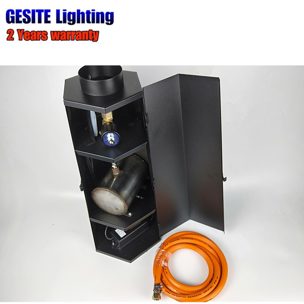 FREE SHIPPING Stage Fire Flame Machine DJ Effect Equipment DMX Manual Wire lpg цены