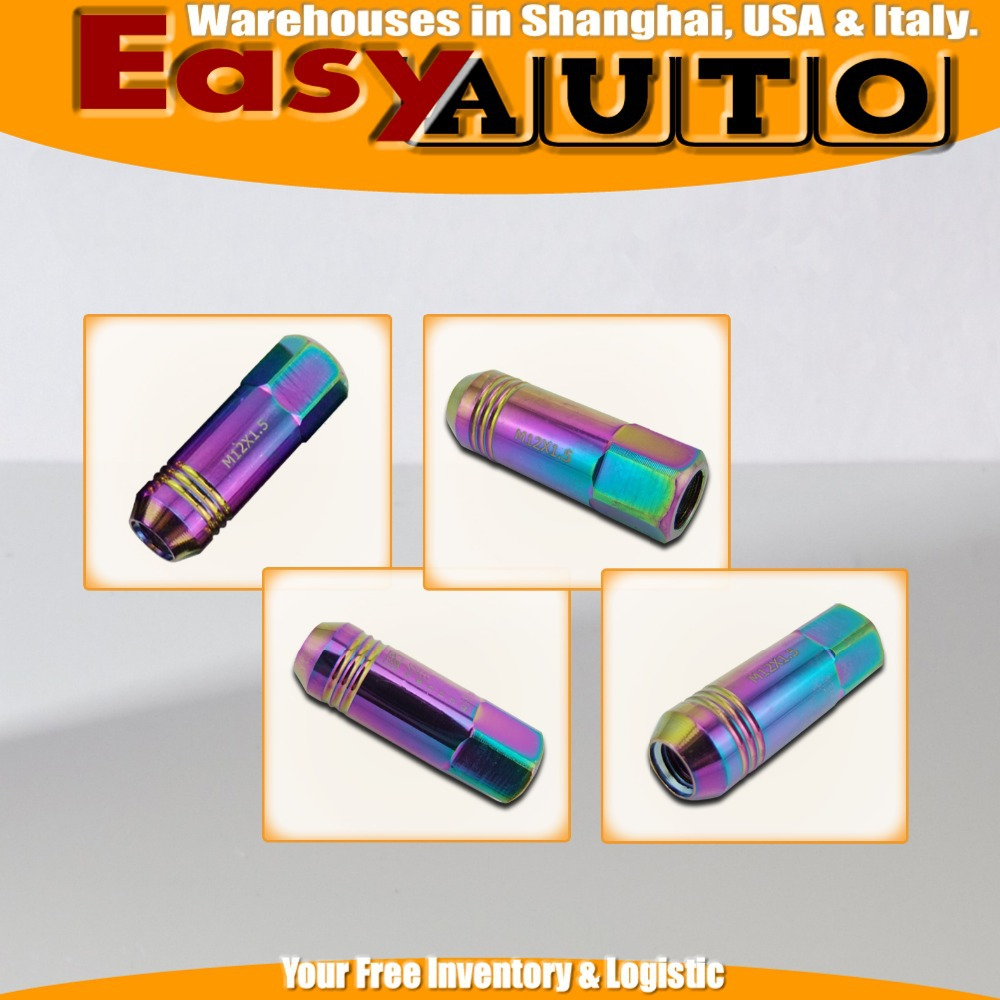 M14X1.5 NEO Chrome Magnetic Oil & Tranny Drain Plug Package for Ho* da image