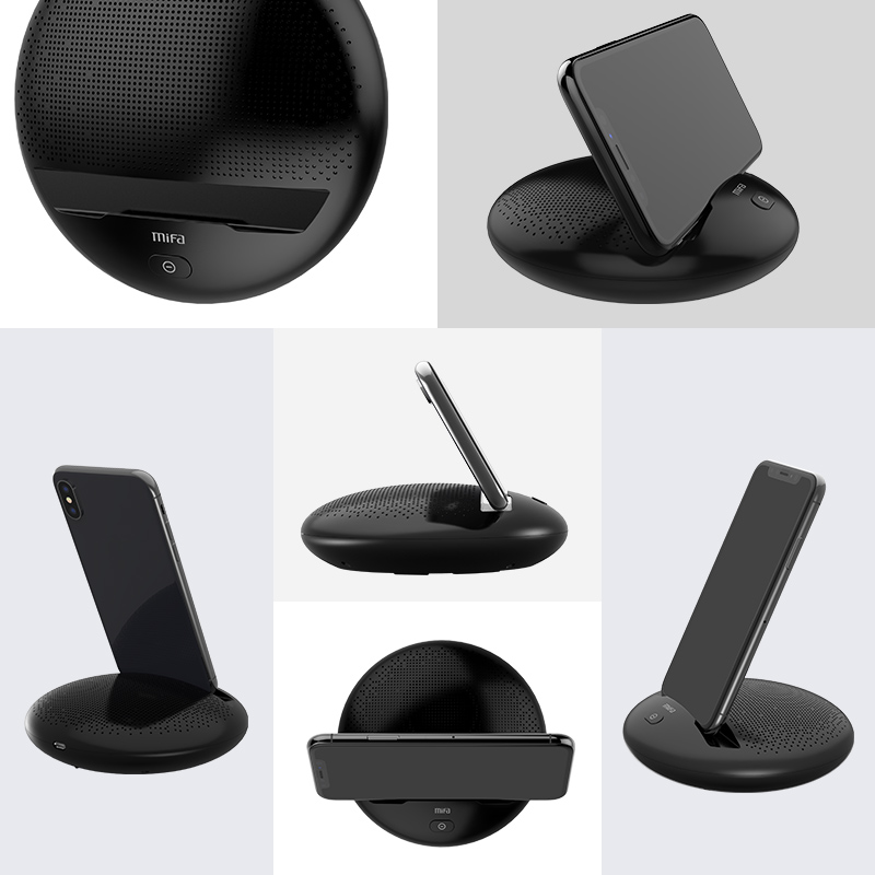 Mifa Mifi I6 Wireless Bluetooth Portable Speaker Hifi Stereo Bass Phone Stand Sound Music Box With Built in Mircophone For phone