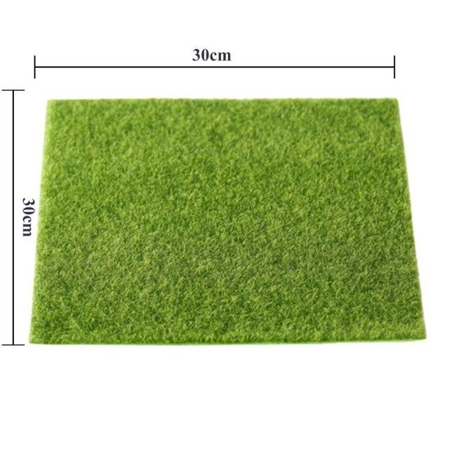 Горячая 3D реального Touch поддельные мох искусственный газон Micro ландшафт мха трава цветы Artificiais листва для дома Свадебные украшения