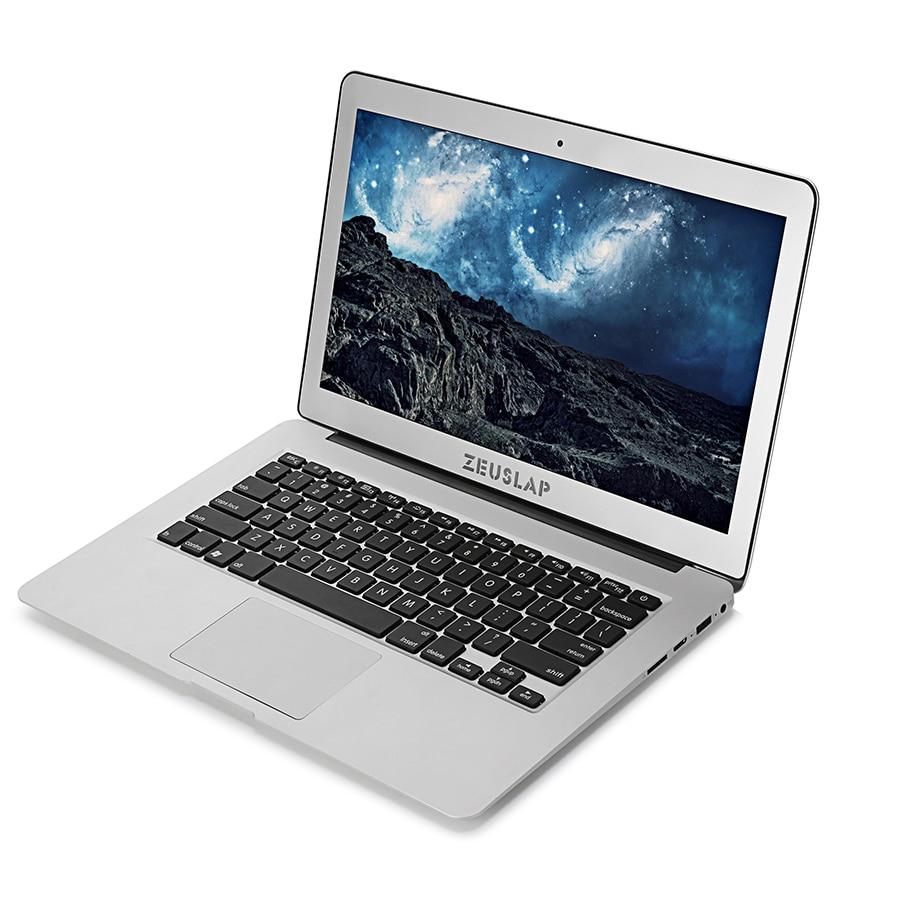 ZEUSLAP-X3 Intel Core i7-6500U Процессор 13.3 дюймов 8 ГБ ram256gb SSD 1920x1080 P Windows10 быстрый запуск ноутбука Тетрадь компьютер
