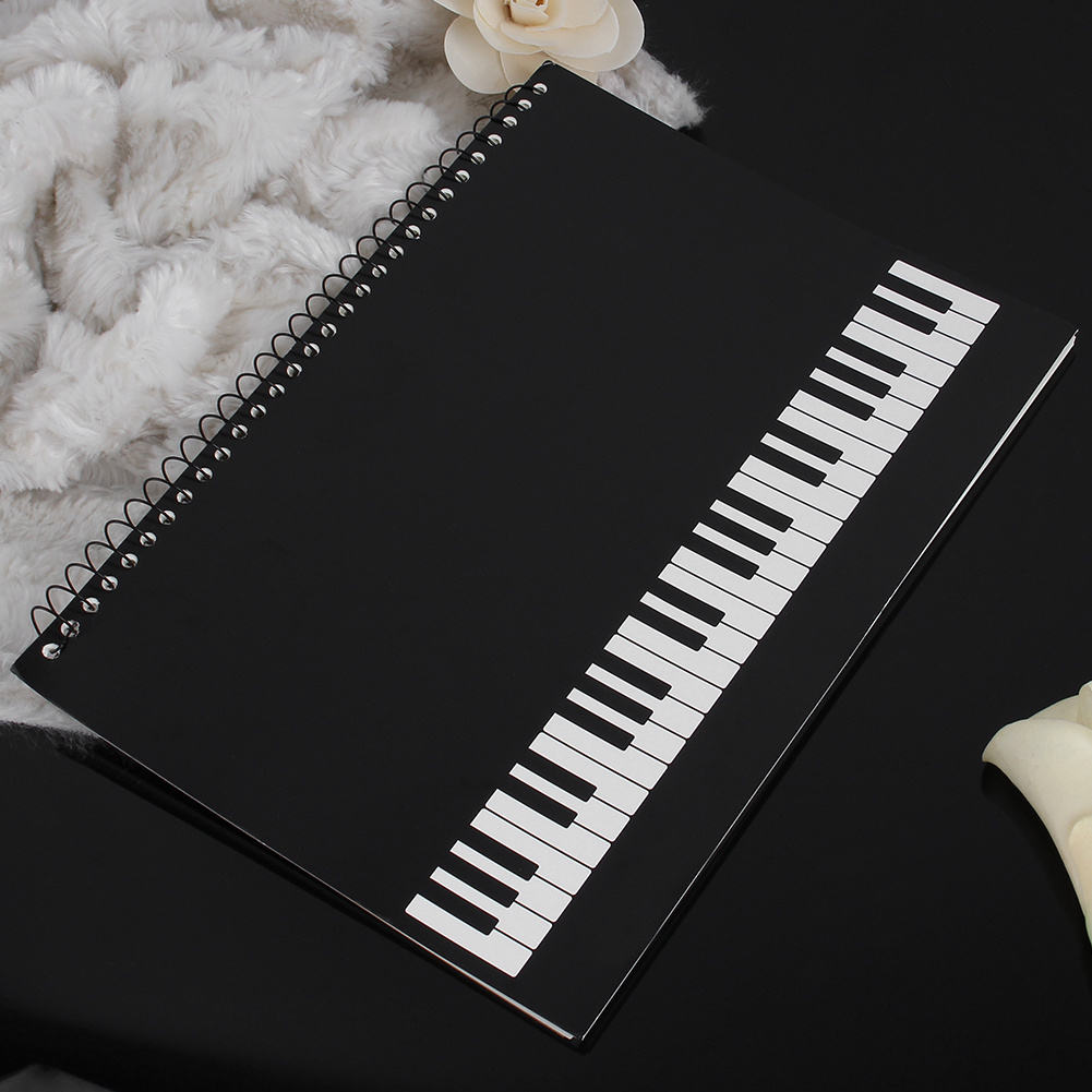 online get cheap music notebook paper com alibaba group back to school professional black music manuscript paper book pad orchestral musician composer staff writing notebook