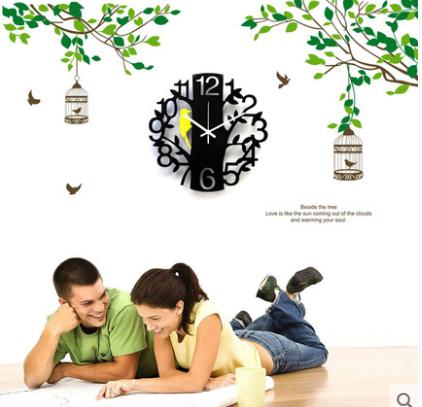 Kingart Child Digital Wall Clock Decorative Kids Room Cartoon  Hanging Wall Watch Clock