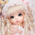 Fairyland littlefee ante oueneifs 1/6 bjd bonecas sd renascer bebê menina menino modelo de brinquedo olhos de alta qualidade make up resina