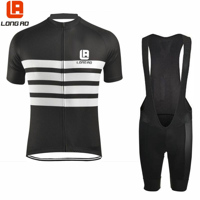 2017 Short Sleeve Cycling Clothing Quick Dry Men Ropa Ciclismo Fluo Maillot Cycling Jersey Bicycle Wear Road Bike Racing Clothes