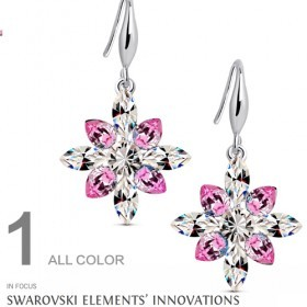 Spesial Sale Clearence Stock 1 Pair 0.99 Usd 2 Pair 1.90 Usd Austria Crystal Earring For Women Wedding