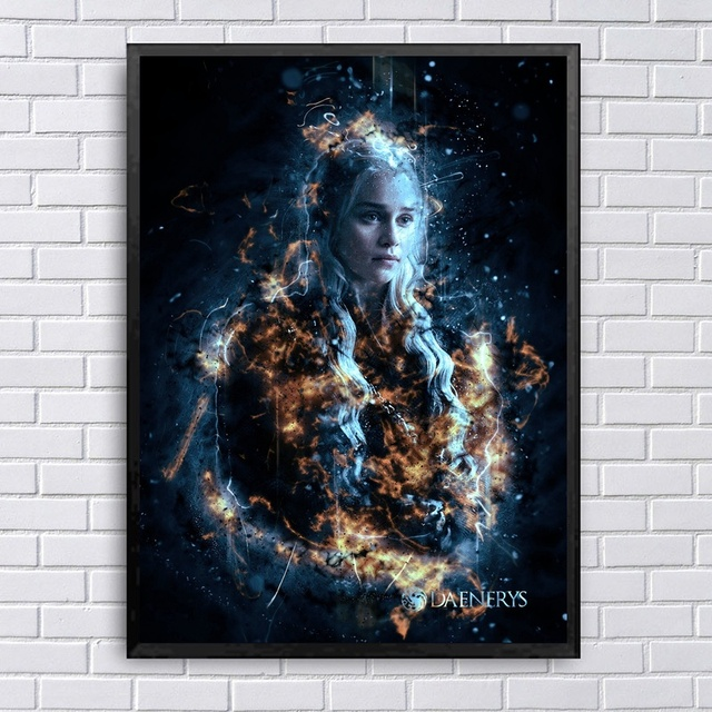 """Game of Thrones"" Art Canvas 1"