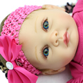 22 Inch Silicone Doll Baby Reborns Realistic Reborn Babies Doll Lifelike Finished Doll Handmade Baby Kids Birthday Xmas Gift