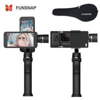 Funsnap Capture 3 Axis Handheld Phone Gimbal Stabilizer for iPhone X 8 7 Plus Samsung S8 Gopro Hero 6 5 Yi Sjam EKEN H9