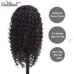 Бразильский вьющиеся Синтетические волосы на кружеве натуральные волосы парики для черный Для женщин глубокая волна кружева парик