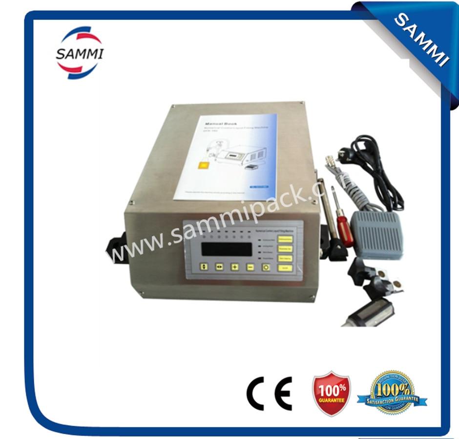 110V digital control oil bottle filling machine