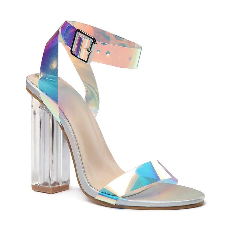 Thời trang Nữ Giày Nữ Giày Cao Gót Đính Khóa Nữ Dép Nữ Bơm Sandalias Giày Sandal Nữ Giày Nữ Nữ Gót