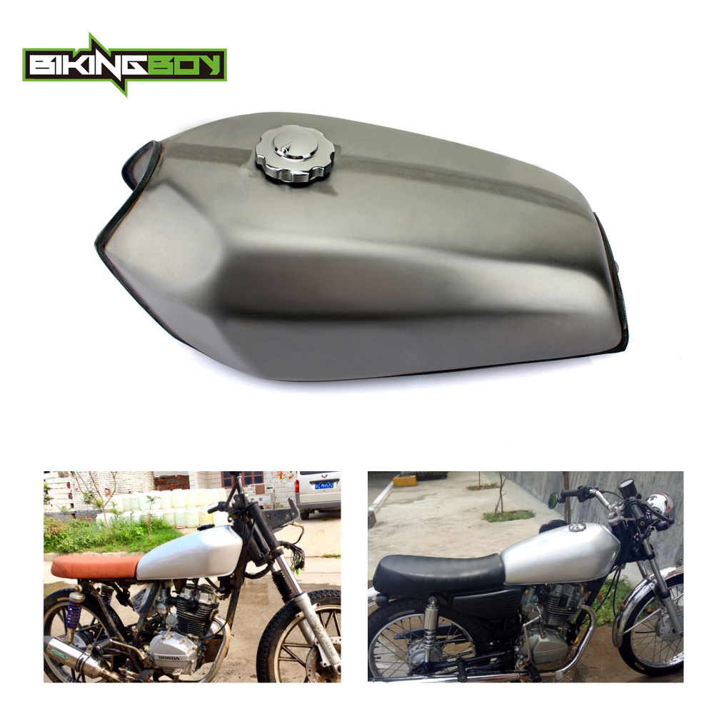 2.9gal 11L Motorcycle Universal Thicken Cafe Racer Fuel Gas Tank Fit Honda CG125