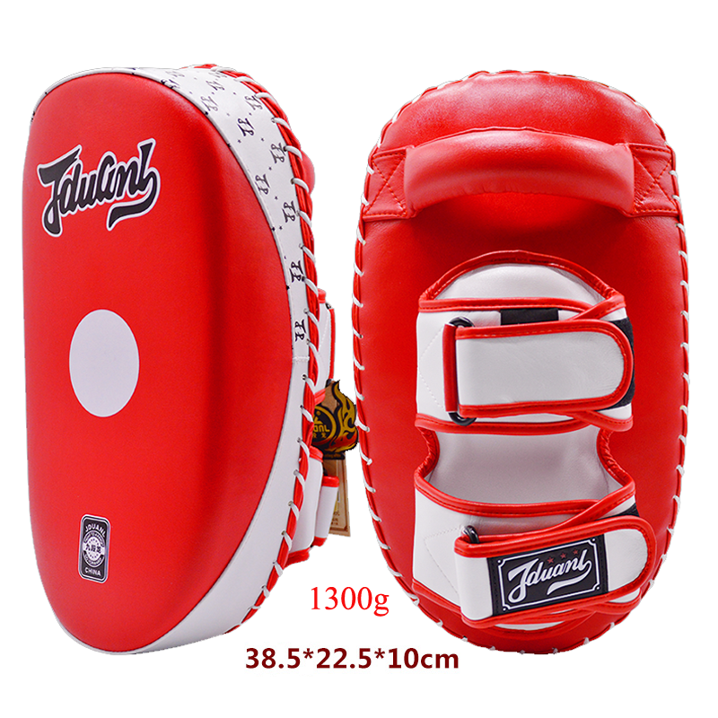 JDUnaL 1Piece Micro PU Weighted Sanda Boxing Pad Muay Thai MMA Kickboxing Pads Martial Arts Kick