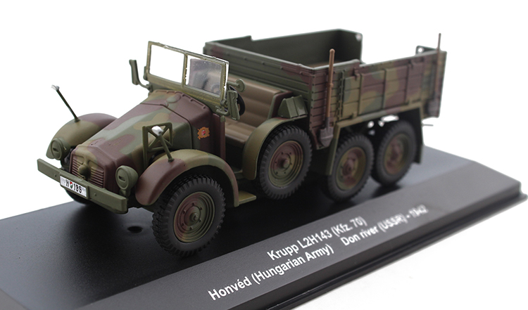 Gifts 1:43 IXO \ ALTAYA Krupp L2H134 Military trucks truck model Alloy model collection ixo 1 43 dodge dart dodge daet alloy model cars