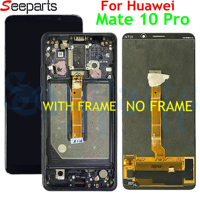 Huawei Mate 10 Pro LCD Display Touch Screen Digitizer Assembly With Frame Replacement For 6.0 Huawei Mate 10Pro LCD +Tools     Huawei Mate 10 Pro LCD Display Touch Screen Digitizer Assembly With Frame Replacement For 6.0 Huawei Mate 10Pro LCD +Tools