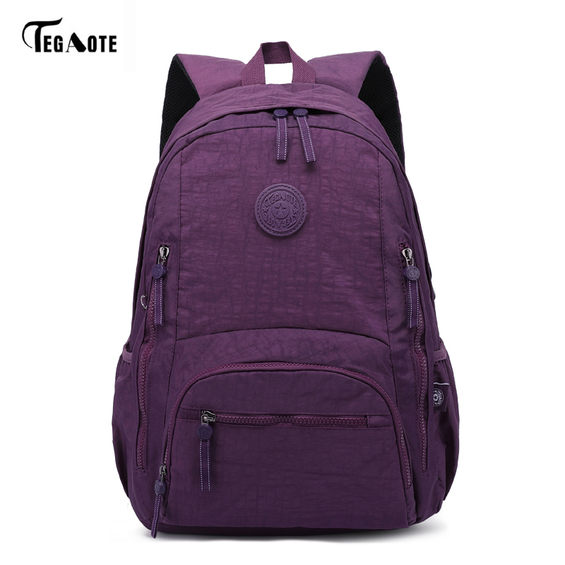 TEGAOTE Women Laptop Backpack Leisure School Bagpack for Teenage Girls Boys Mochila Escolar Travel Backpacks Bags Sac A Dos цена
