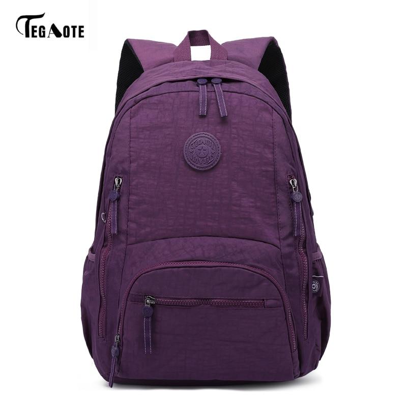 TEGAOTE Women Laptop Backpack Leisure School Bagpack For Teenage Girls Boys Mochila Escolar Travel Backpacks Bags Sac A Dos
