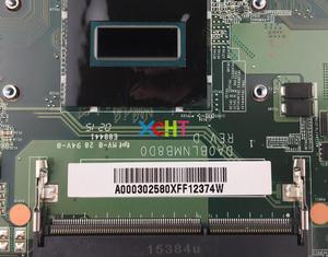Image 3 - A000302580 DA0BLNMB8D0 ワット i5 4200H CPU 東芝 S55 S55T B S55t B5335 シリーズマザーボードマザーボードシステムボードテスト