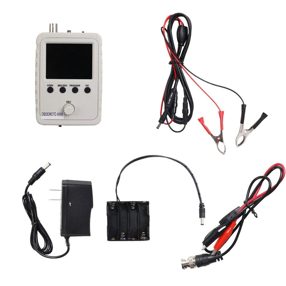 automotive obdemoto 6006 signal simulation emulator AC DC (alternating current) oscilloscope