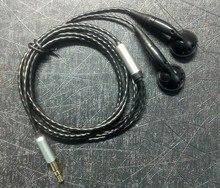 DIY PK2 наушники вкладыши с микрофоном и посеребренным проводом