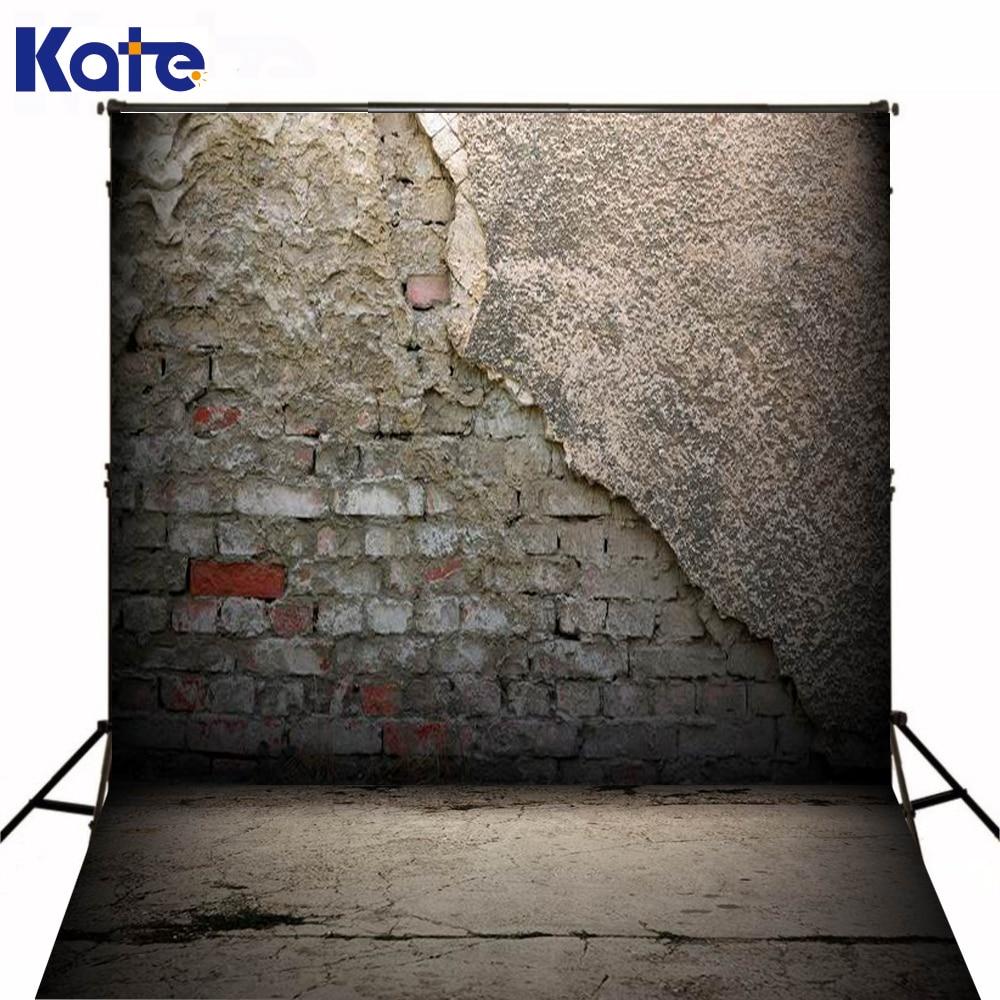 Kate Retro Brick Wall Photography Backdrop 10*6.5Feet(300*200Cm) Era Art Photography Backdrops Washable Photography Background