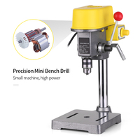 Mini Drilling machine Drill Press Bench Small electric Drill Machine Work Bench gear drive 220V 450W EU plug for CNC Power Tools