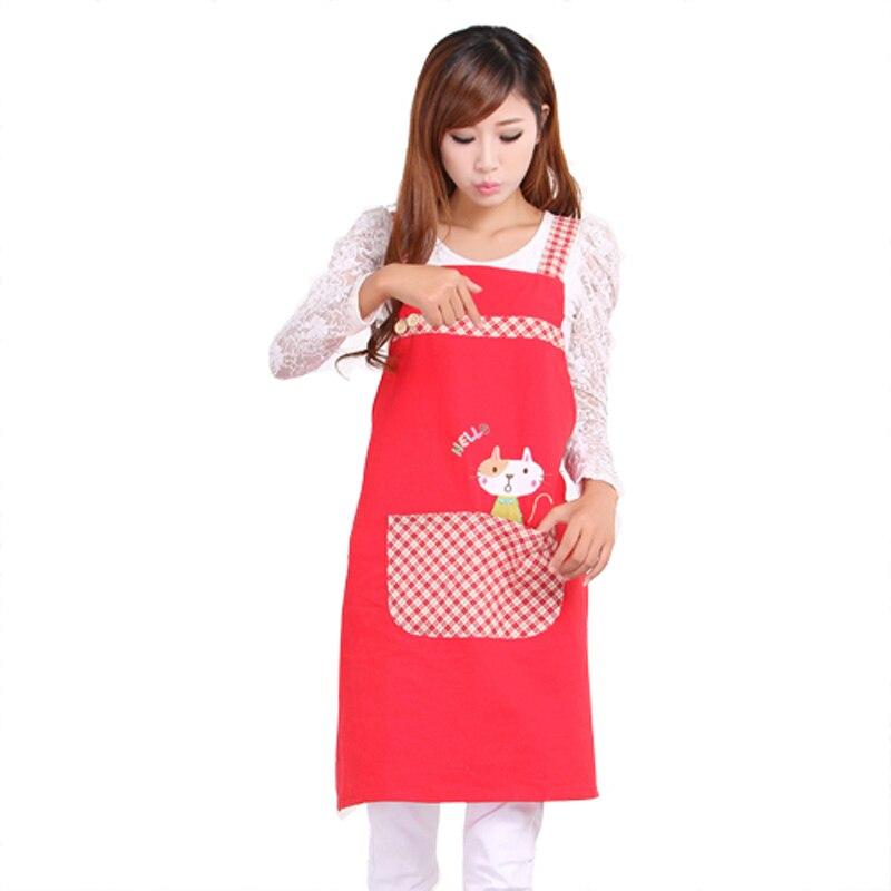 Hot Sale Cute Cat fashion princess tea shop kindergarten apron woman - Household Merchandises - Photo 2