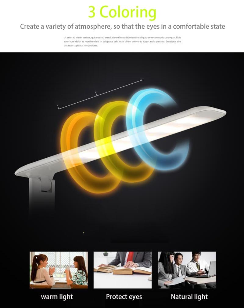 display led lâmpada de mesa led lâmpada
