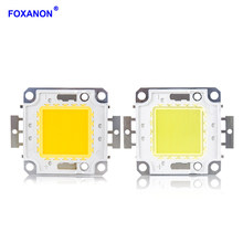 Foxanon Led COB Chip Light Beads DC12V 36V 10W 20W 30W 50W 100W Integrated LEDs Lamp lamparas led Bulb DIY Floodlight Spotlight(China)
