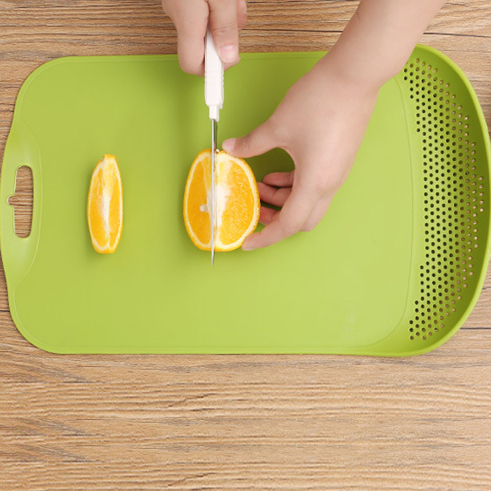 Creative Non Slip Kitchen Sink Cutting Board Camping Antibacteria Board  Acrylic Fruit Chopping Board Can Filter Water #GX6.29 In Chopping Blocks  From Home ...