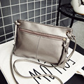 Envelope Women Messenger Bags Solid Fashion Zipper PU Leather Small Shoulder Bags Female Crossbody Bag