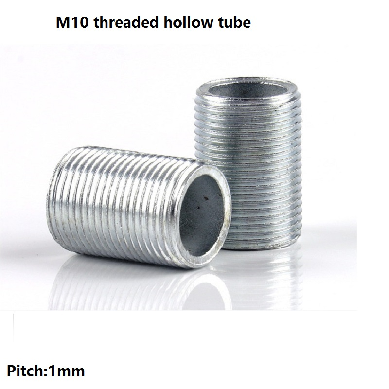 Pieces lot mm metric m whole threaded hollow