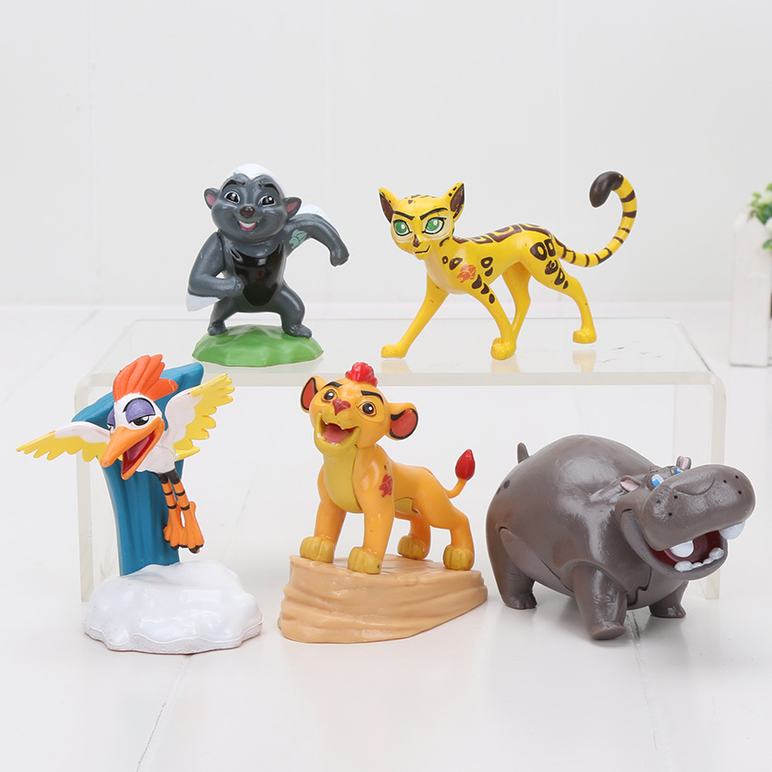 The Lion King 2019 10 Piece Deluxe Figure Set Simba Scar