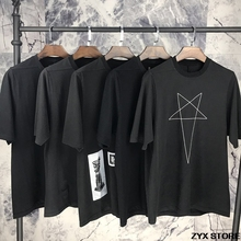 Xieruis 2017ss New Collection Self-Design Women Men Darkness Style Patch T shirts tee Casual Cotton T shirt Best Quality