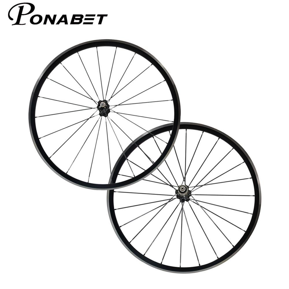 PONABET Free shipping 1410g Kinlin XR200 alloy wheelset 22mm clincher wheels