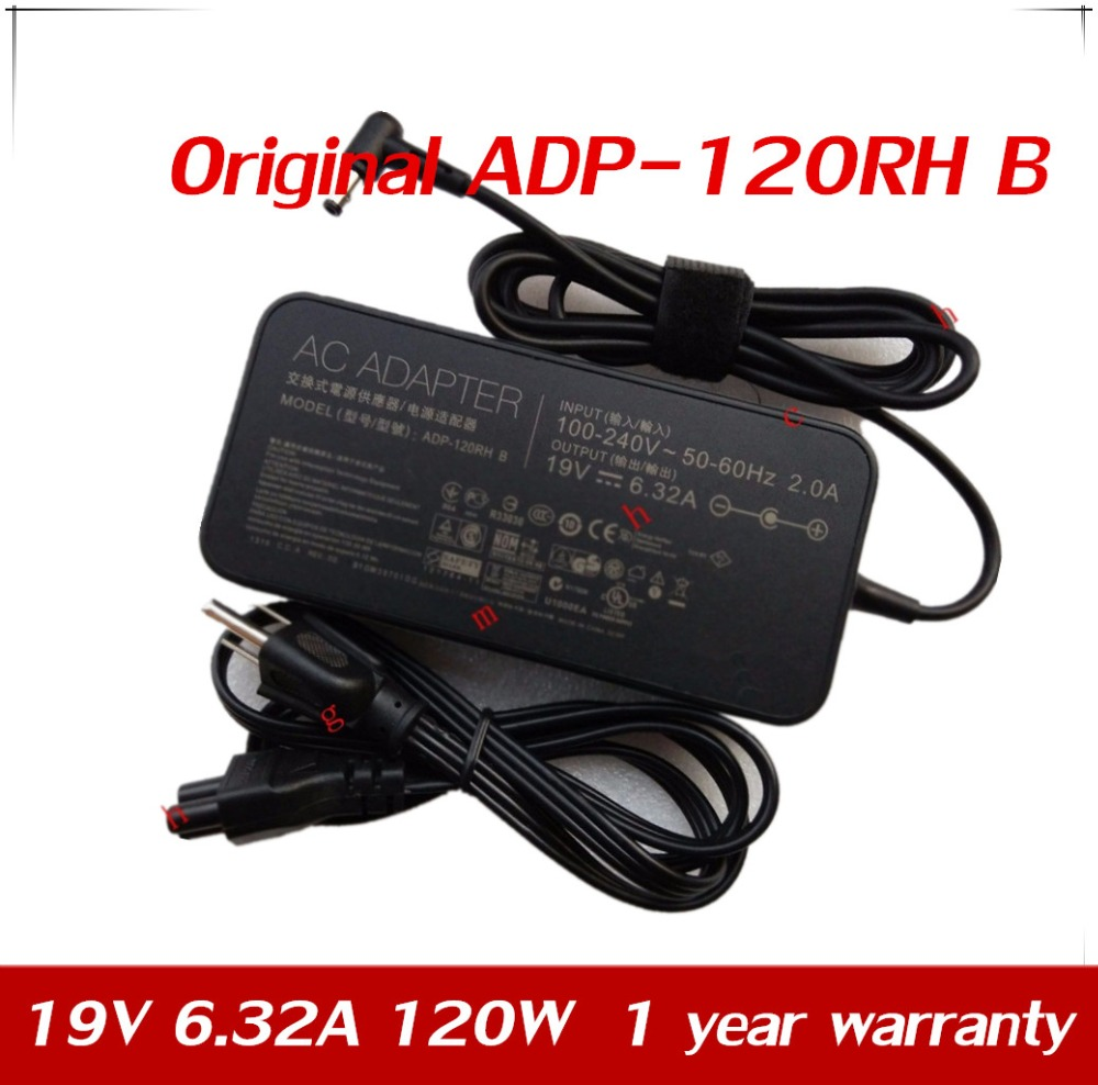 7XINbox <font><b>19V</b></font> <font><b>6.32A</b></font> 120W 5.5*2.5 PA-1121-28 Original Laptop Adapter For <font><b>Asus</b></font> N750 N500 G50 N53S N55 all-in-one AC Power <font><b>Charger</b></font> image