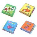 Inglês Livro de Pano Macio Para O Bebê Dos Desenhos Animados Do Bebê Crianças Brinquedo Educativo Brinquedo Livros de Pano Crianças Desenvolvimento da Inteligência