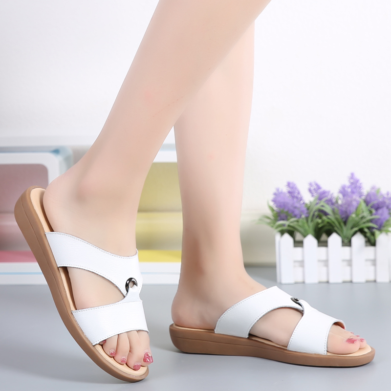 Women Beach Slippers Summer Sandals Wedges Slip On Slides Platform Peep Toe Flip Flops Ladies Casual Shoes Sandalias women sandals 2018 summer shoes woman flip flops wedges fashion platform female slides ladies shoes peep toe