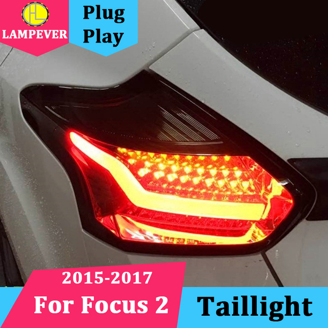 Lampever Tail Lights For Ford Focus 2 Taillights 2017 2016 Led Lamp Rear Trunk
