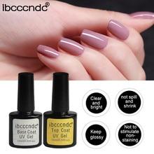 Ibcccndc гвоздь лак для женщин верхнее/Базовое покрытие УФ-Декор для ногтей Гель-лак для ногтей герметик съемный праймер макияж инструменты T19L0611