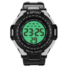 PHYTO Sports Watches Men Dive 30m Digital LED Army Watch Mens Casual Electronics Wristwatches relojes hombre купить недорого в Москве