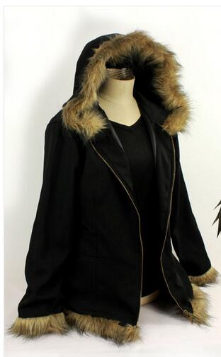 DuRaRaRa Orihara Izaya Cosplay Costumes Vogue Black Coat Jacket Հելոուինի հագուստ