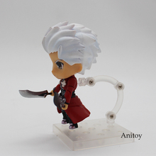 Cute Nendoroid Fate Stay Night Emiya Shirou Archer 486# 4″ PVC Action Figure Collectible Model Toy 10cm KT2957